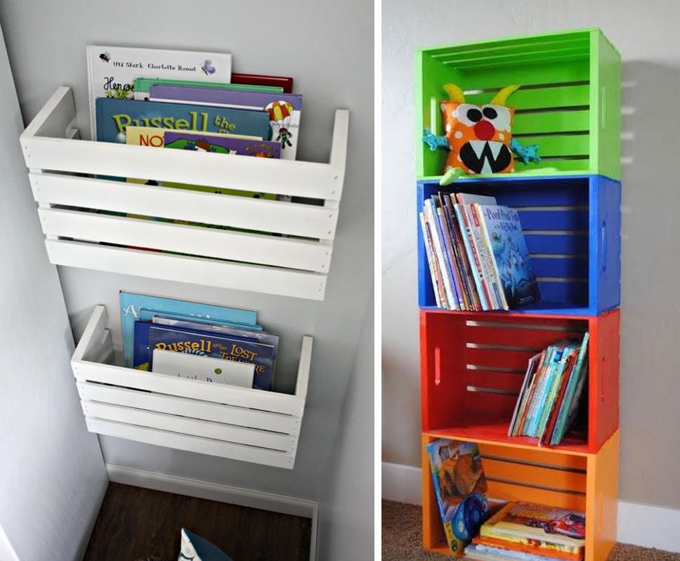 10 formas asombrosas de reciclar cajones de madera m s chicos - Reciclar cajones de madera ...