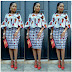 Be Inspired With These Stunningly Cute Ankara Skirt and Blouse Styles for 2018