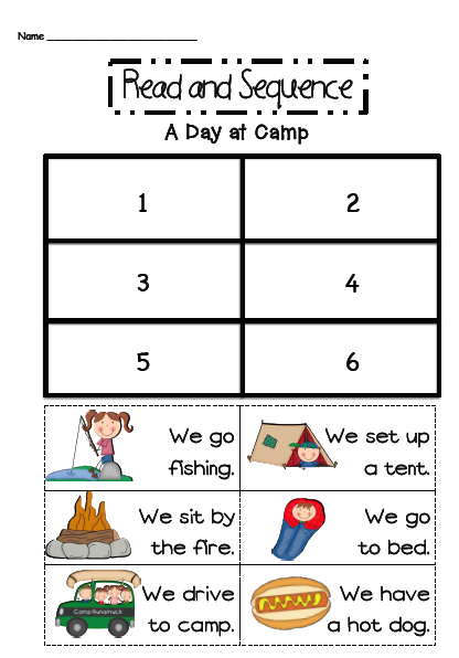 Free picture sequencing worksheets for 3rd grade
