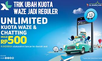 Cara Mengubah Kuota XL Waze Jadi Kuota Reguler Unlimited 2019