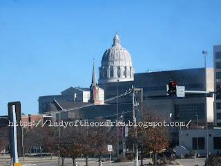 The Missouri State Capital Building in Jefferson City