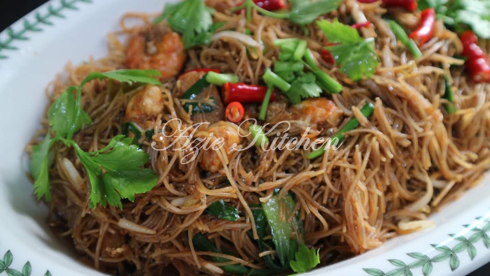 Mee Hoon Goreng Kicap Yang Sangat Sedap Azie Kitchen
