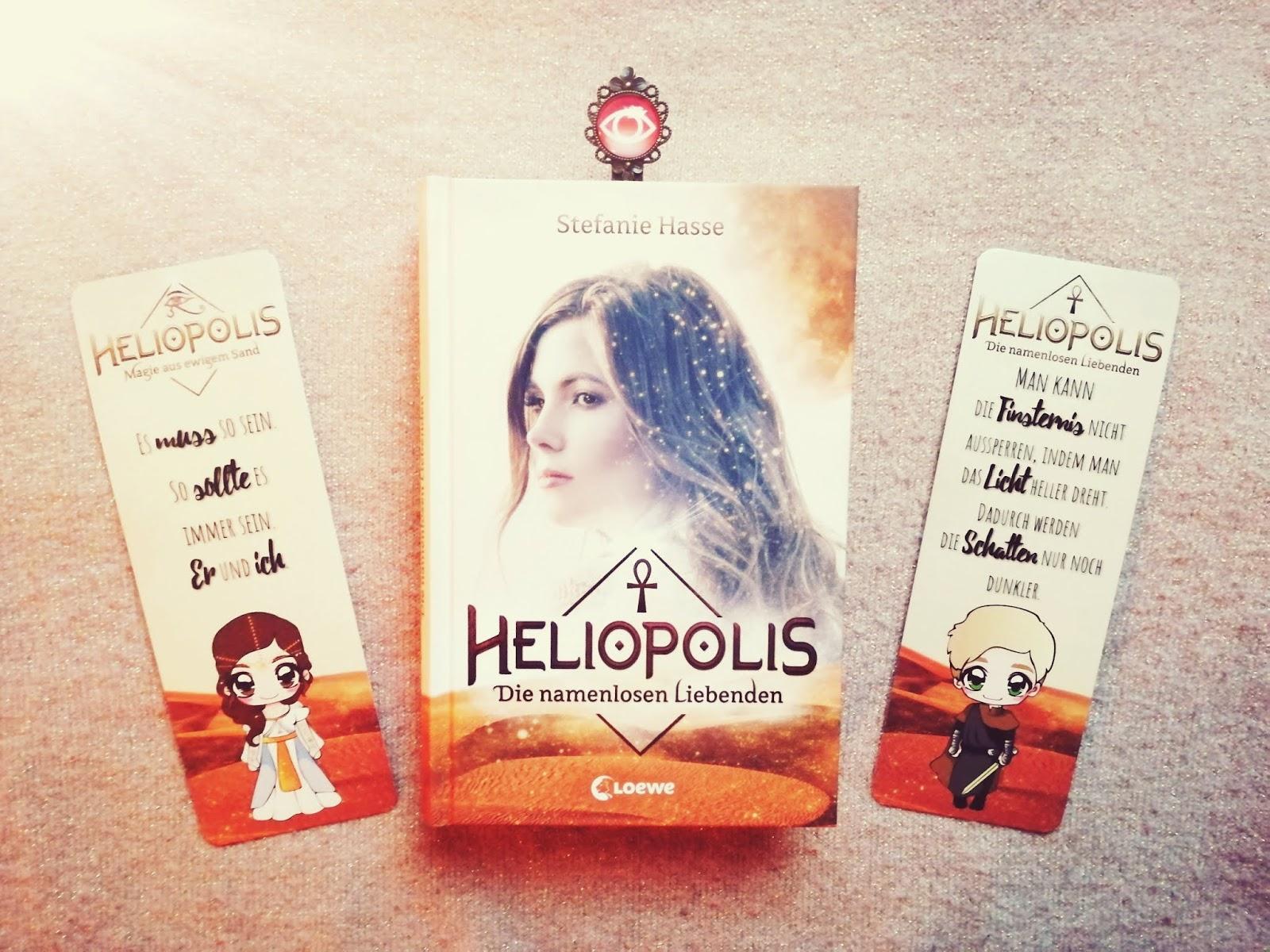 {Rezension} Heliopolis - Die namenlosen Liebenden | Stefanie Hasse