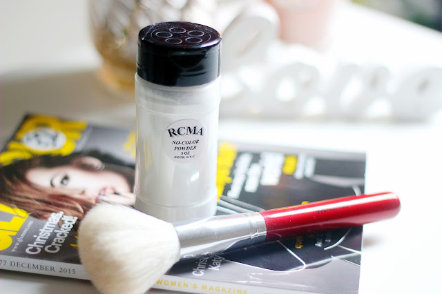 RCMA No Color Powder review best setting powder ever morphe brushes
