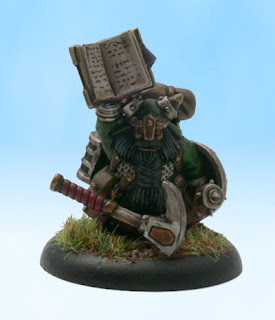 Pathfinder RPG Miniature Conversion Dwarf Bard