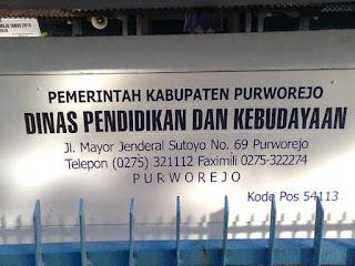 Alamat Sekolah di Kabupaten Purworejo