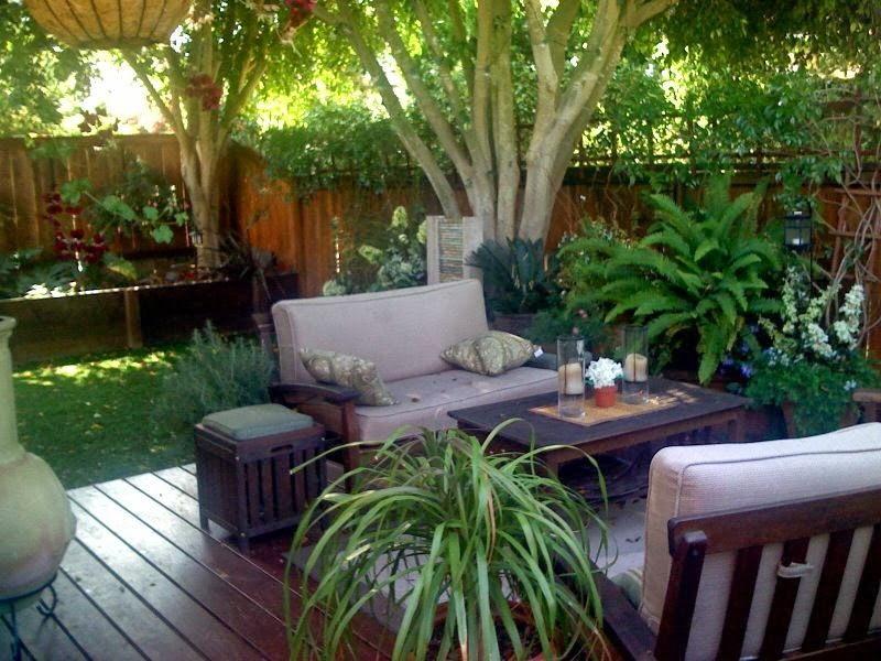 Patio Designs for Small Backyards picture