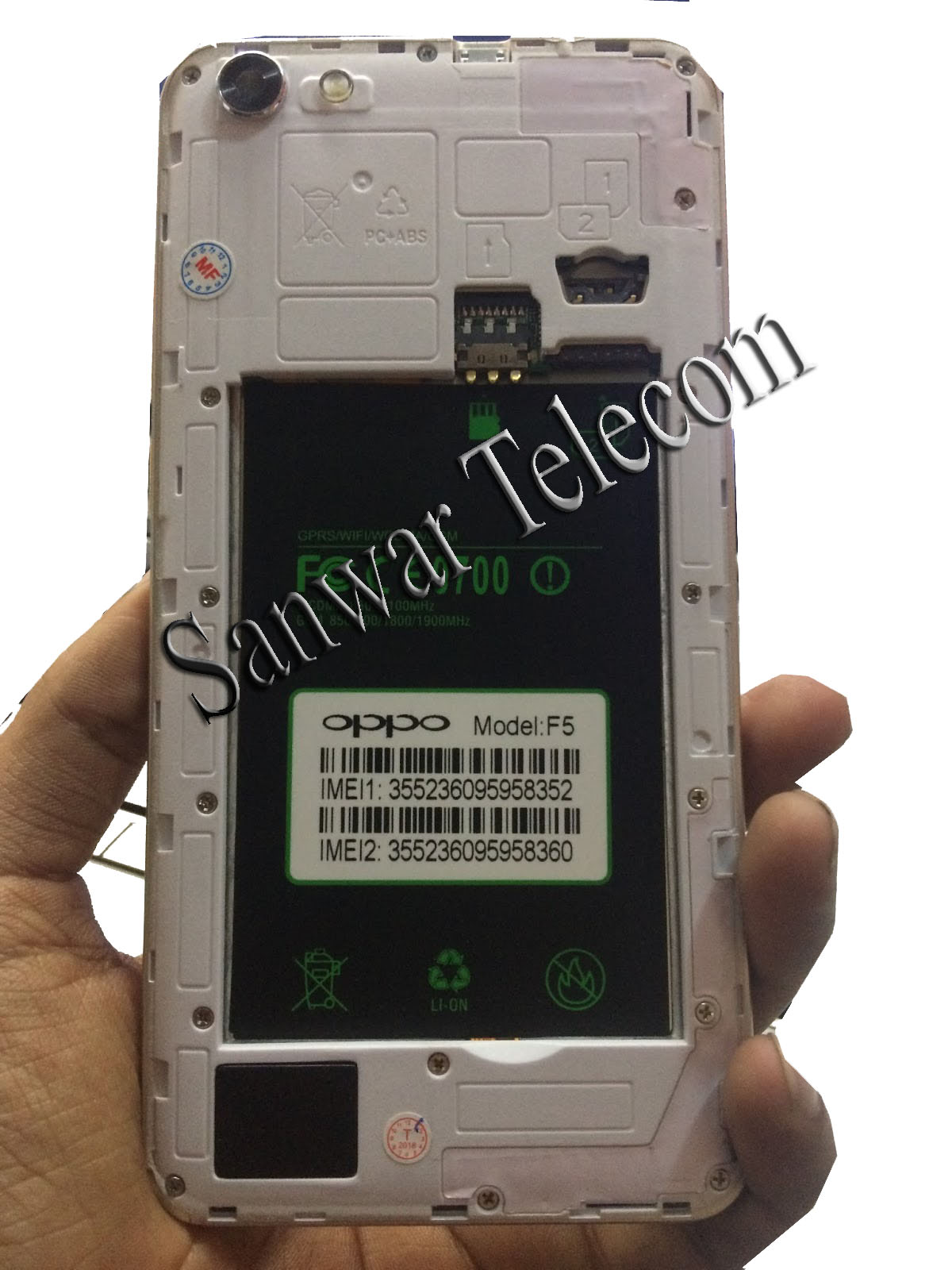FirmwareAmi: Oppo Clone Firmware F5 MT6580 Flash File With Password
