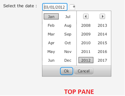 Experiments with Java: Calendar Control in JavaFX 2 0