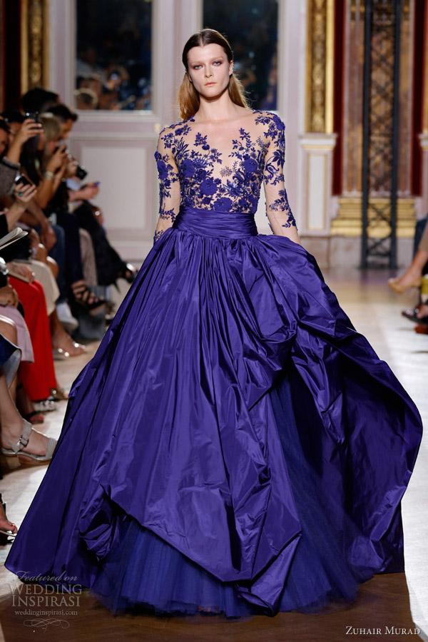 Vestido de noiva azul significado