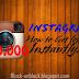 Instagram Instant Likes