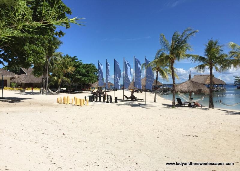 Bluewater Maribago Beach Amenities