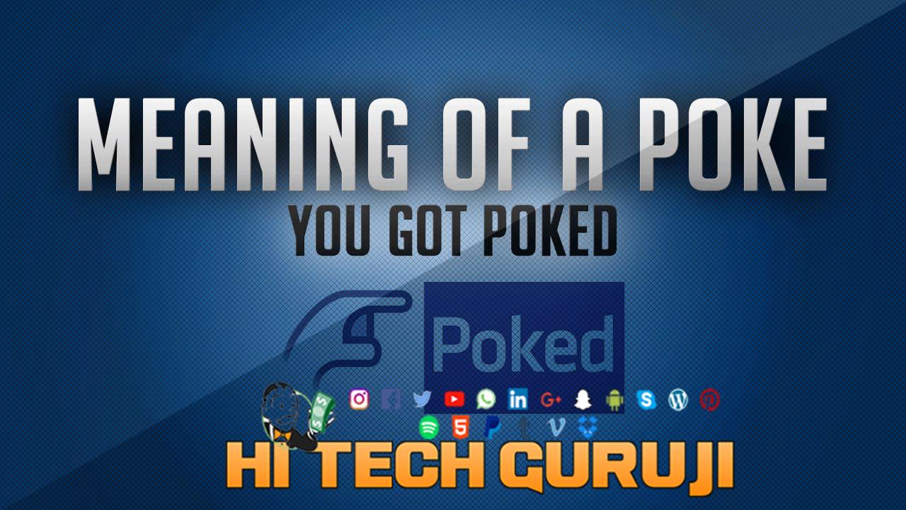 Meaning of pokes in facebook in hindi tony illman blackjacks