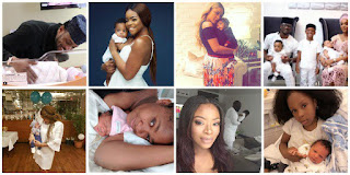 10 Nigerian Actresses, Actors And Musicians Who Welcomed Their New Babies In The Year 2017