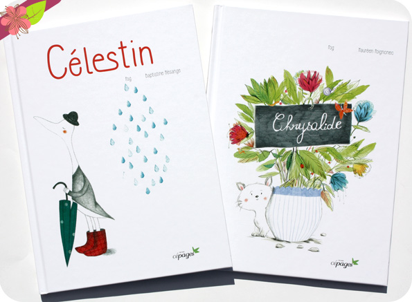 Chrysalide et Célestin - Éditions Cépages