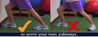 wrong calf muscle exercise