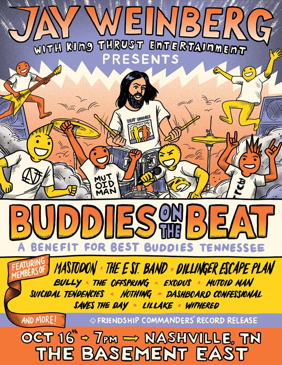 buddies on the beat poster