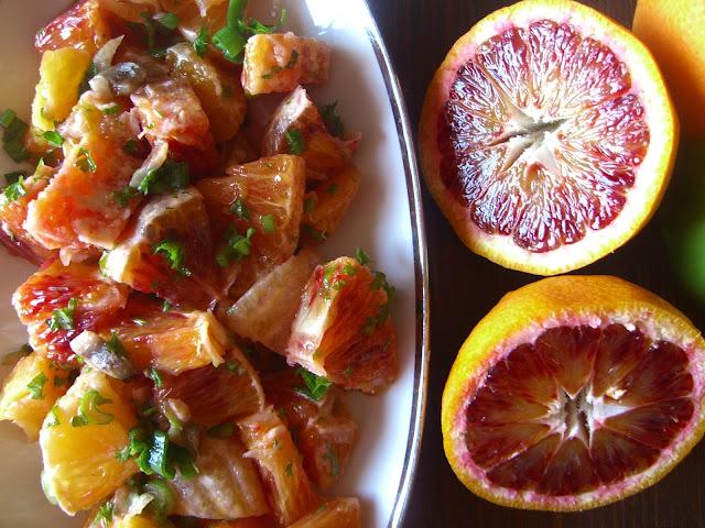 portakal salatasi tarifi