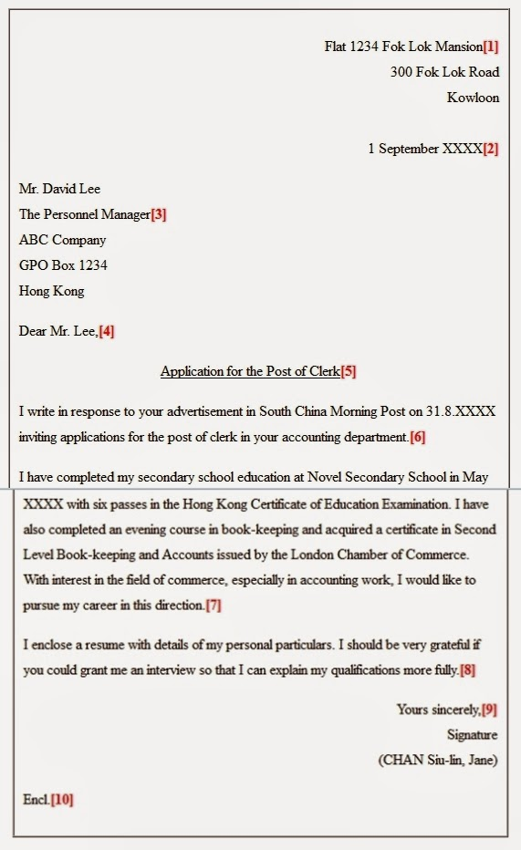 Contoh Surat Lamaran Kerja Bahasa Inggris Terbaru Berita
