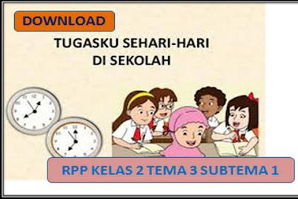 RPP Kelas 2 SD/MI Kurikulum 2013 Revisi 2018