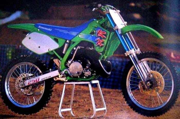 327 Rider's Club: 1992 Kawasaki KX 250 / 92 KX250  327 Rider's...