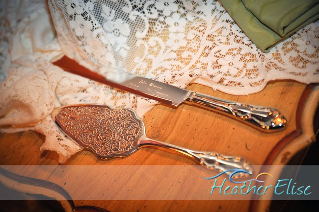 San Diego Style Weddings: Personalized Touches: Engraved