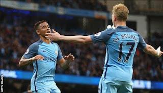 Manchester City Kehilangan Gabriel Jesus dan De Bruyne Usai Diimbangi Palace