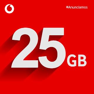 Vodafone regala 25 GB en verano.