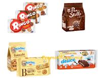 Logo Ti Frutta nuovi coupon Mulino, Pan di Stelle, Kinder, Ringo, Mentadent e non solo