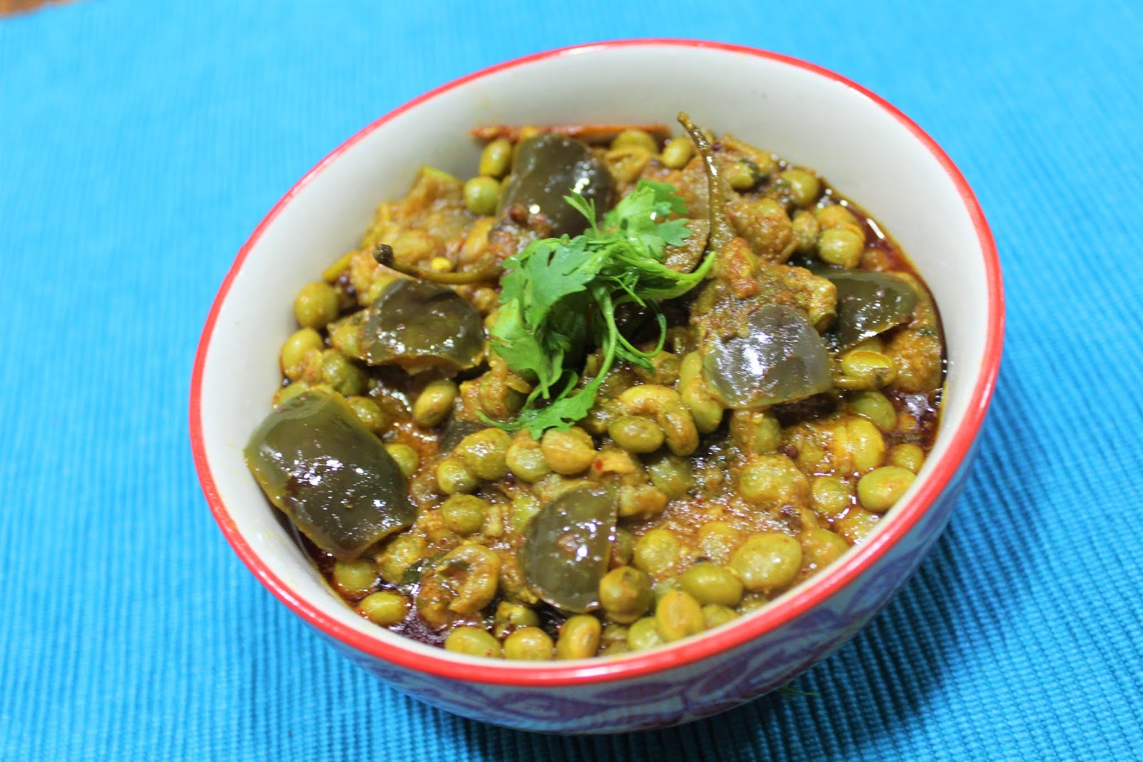 Tuvar Ringan Nu Shaak Gujarati Shaak Recipe Gujarati Rasoi