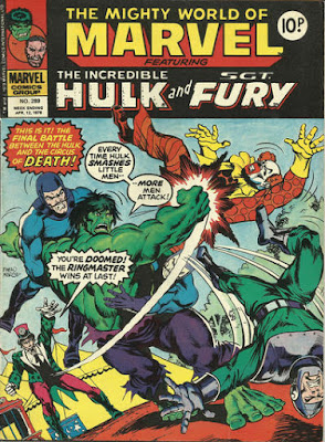 Mighty World of Marvel #289, Hulk vs The Circus of Crime