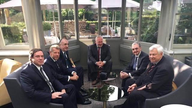 Cancilleres de Armenia y Azerbaiyán se encuentran en Bruselas
