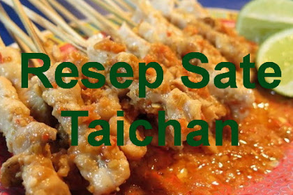 Resep Sate Taichan Tanpa Bumbu Kacang yang Pedas dan Segar