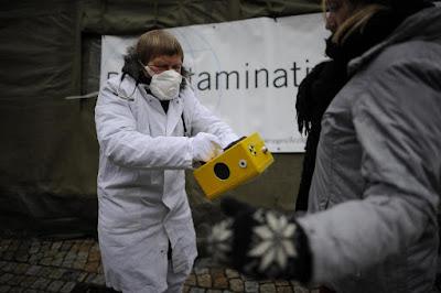 Μυστηριώδεις ραδιενέργεια εξαπλώνεται σε όλη την Ευρώπη.