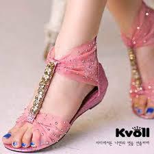 Model Sandal Sepatu Wanita Asli Mewah Terbaru