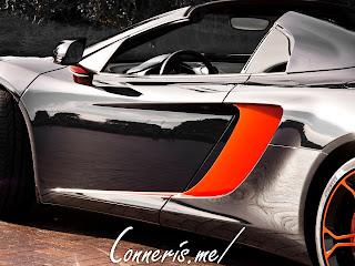 McLaren 12C Side Detail