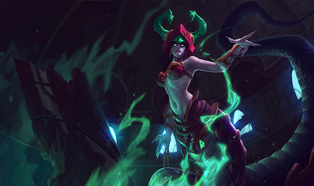 Jade Fang Cassiopeia Skin