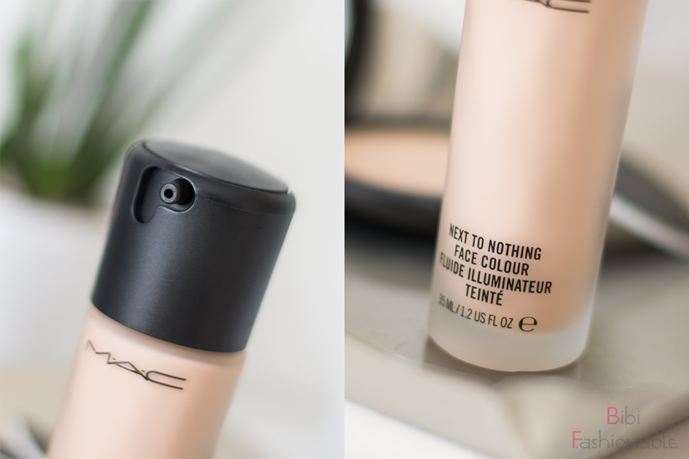 MAC Cosmetics Next To Nothing Face Colour Verschluss Name
