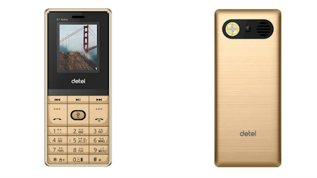 Detel D1 Talkey Dual-SIM Feature Phone Launched at Rs 699