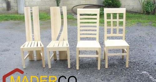 Modelo de sillas de madera maderco peru for Astillas de madera para jardin