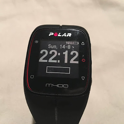 Polar M400 running watch pedometer