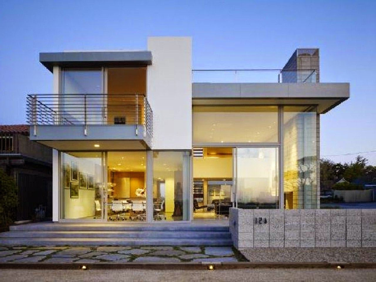 Desain Rumah Minimalis 2 Lantai