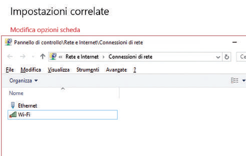 Come configurare la rete internet su Windows 10