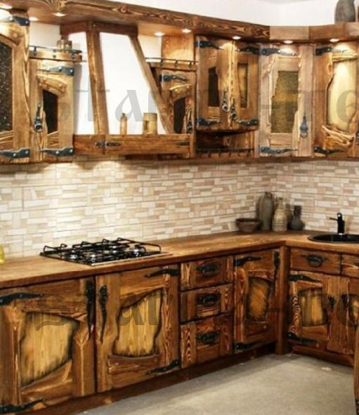 Reclaimed Wood Kitchen Cabinets: Free DIY Cabinet & Furniture Designs Ideas Using Reclaimed