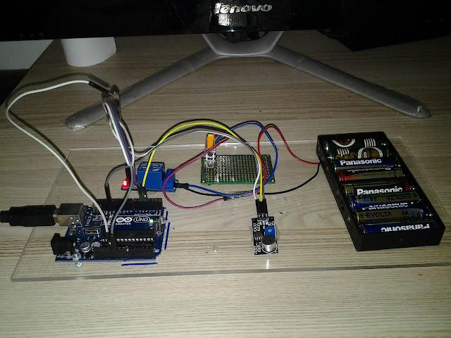 โปรเจค Arduino ง่ายๆ เปิด ปิดไฟด้วยเสียง