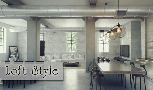 บ้านสไตล์ลอฟท์ (Loft Style)