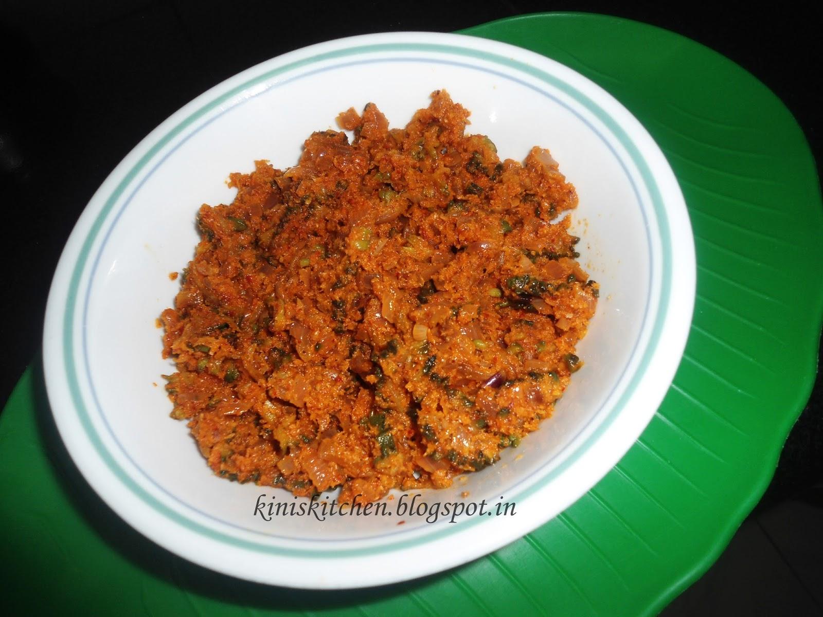 Kini's Kitchen: Kaarate Sagle on
