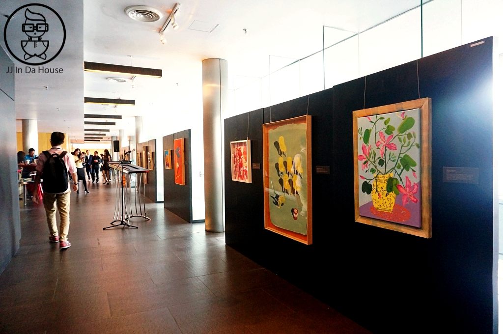 All The Artworks Have Been Hanged Nicely Just Waiting For The VIPs To  Arrive And Launching To Begin.