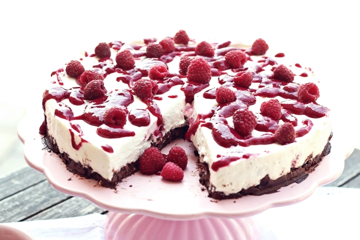 Himbeer mascarpone torte ohne backen