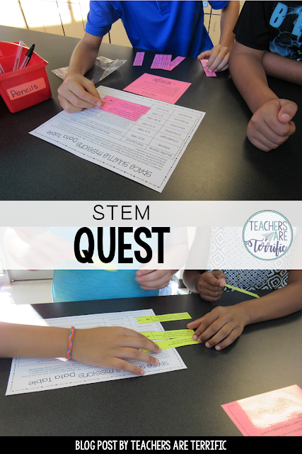 STEM Quest - Kids solve puzzles and follow clues using Space Shuttle Missions information. Clues to lead to lock codes and they unlock the box to reveal the next task!
